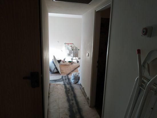 שיפוץ דירה 5 חדרים בכפר סבא - שלב הריסה ופירוקים