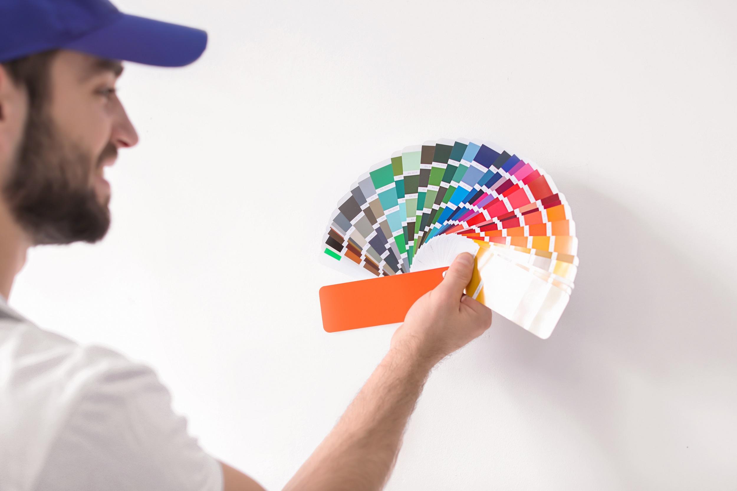 שילוב צבעים בעת צביעת דירה