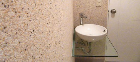 טיח גרנוליט במקלחת